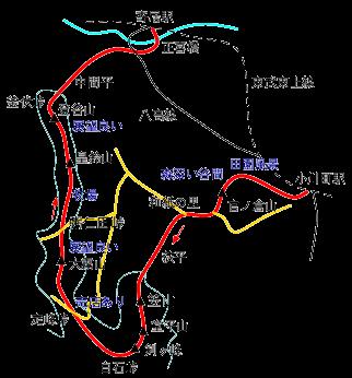 外秩父七峰縦走の登山ルート・コース ...